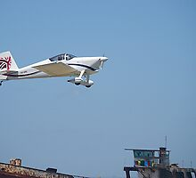 Off into the wide blue yonder. A  VAN RV-7, Tooradin Airport, Australia. by johnrf