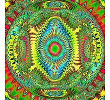 The Spirited Mandala by walstraasart
