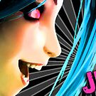 Jinx Design Print by tychilcote
