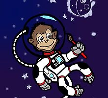 Space Monkey by spacemonkey89