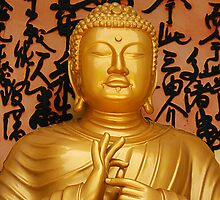 Buddha Statue by Cornelia Priemus