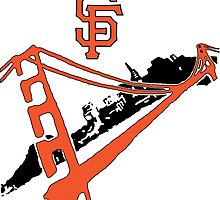 San Francisco Giants Stencil by dswift