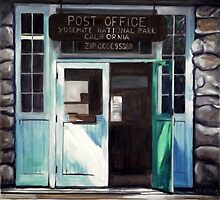 Yosemite Post Office by Norbert Haupt