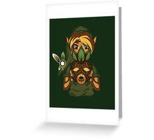 Faces of the Hero - Deku Greeting Card