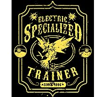 Electric Specialized Trainer Photographic Print
