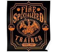 Fire Specialized Trainer II Poster