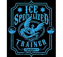 Ice Specialized Trainer Photographic Print
