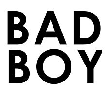 BAD BOY (Black) by BadBehaviour