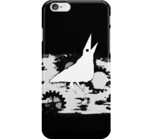 Crow left of the murder. iPhone Case/Skin