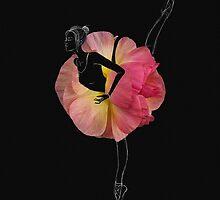 Ballerina en pointes by Olga Kashubin