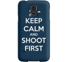 KEEP CALM - Han Shot First Samsung Galaxy Case/Skin
