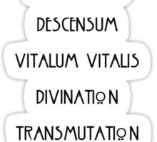 The Seven Wonders Sticker