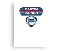 Martini Racing Canvas Print