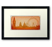 London skyline Framed Print