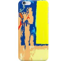 YELLOW AND BLUE iPhone Case/Skin