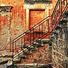 Arkadi Monastery. Stair details by fotowagner