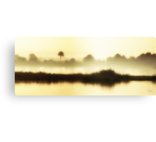 Dawn on the Nile Canvas Print