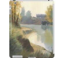 Autumn on the river iPad Case/Skin