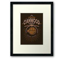 Cianwood Gym Framed Print