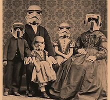 stormtroopers family by Kicco