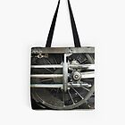 Wheel Tote by Alexandra Lavizzari