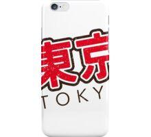 Tokyo vintage iPhone Case/Skin