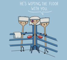 Wiping the floor T-Shirt