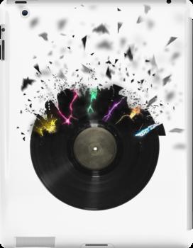 Shattered Vinyl by StreetHulk