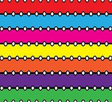 Neon Brights by ArtfulDoodler