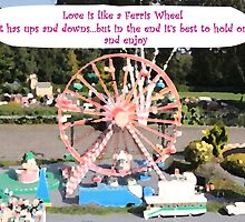 Love is like a Ferris Wheel by CreativeEm