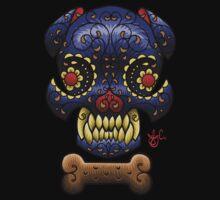 Boston Terrier Sugar skull. by Joby Cummings