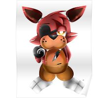 Chibi Foxy Fox Poster