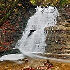Buttermilk Falls by Kenneth Keifer