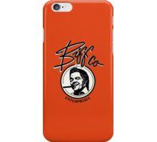 Biff.  iPhone Case/Skin