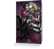 Beetlejuice - The Ghost with the Most Greeting Card