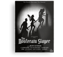 The Nosferatu Slayer Metal Print