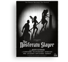 The Nosferatu Slayer Canvas Print