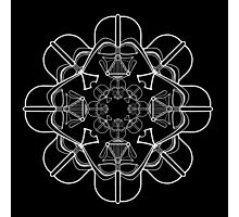 Darth Vader Kaleidoscope Photographic Print