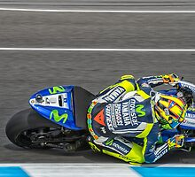 Valentino Rossi  by JohnKarmouche