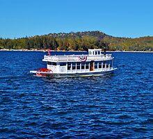 FUN DAY TOUR ON LAKE ARROWHEAD by CHERIE COKELEY