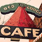 Red Lodge Cafe by Deborah Thomes