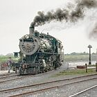 Strasburg Steam by Marilyn Cornwell