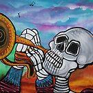 Skeleton Serenade by Laura Barbosa