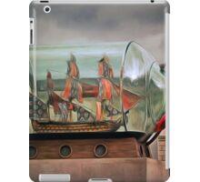 Ship in a Bottle iPad Case/Skin