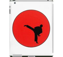 Art Of Karate Print iPad Case/Skin
