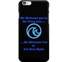 Sea Base Alpha iPhone Case/Skin