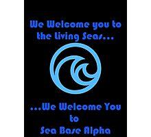 Sea Base Alpha Photographic Print