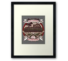 Legends Never Die Framed Print