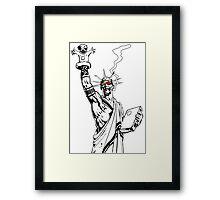Transmetropolitan: Spider of Liberty [Transparent] Framed Print
