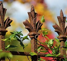 Wrought Iron Autumn by Gilda Axelrod